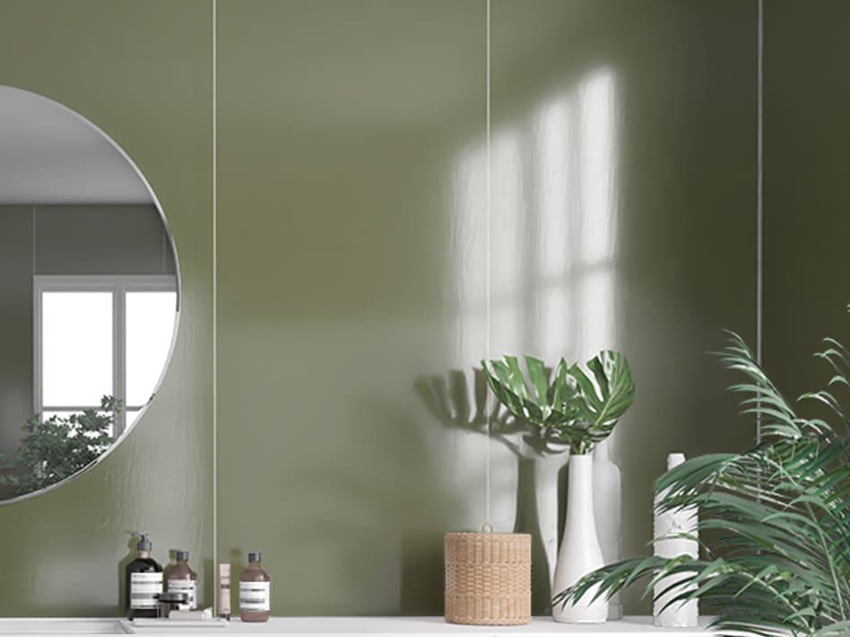 Camo green - 5207 veggpanel
