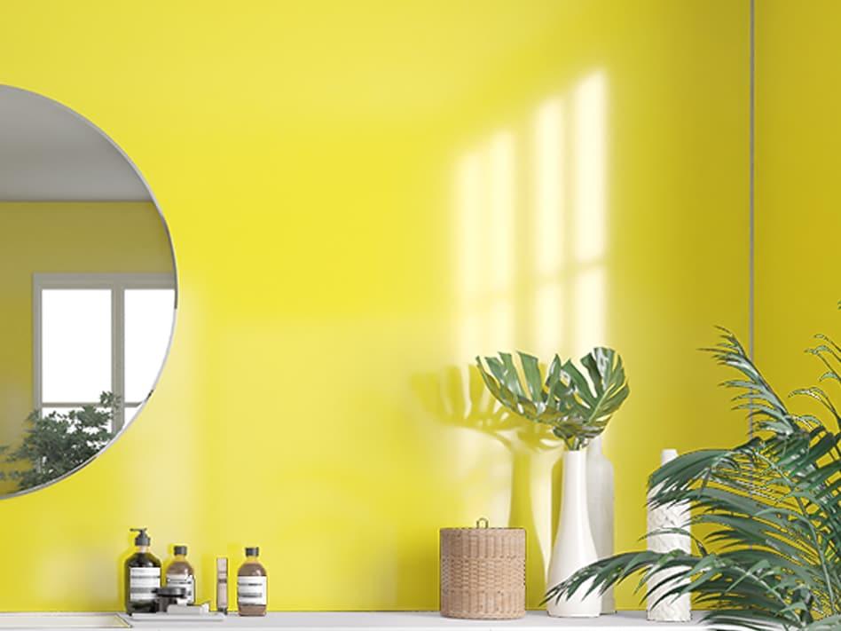 Yellow 5223 veggpanel